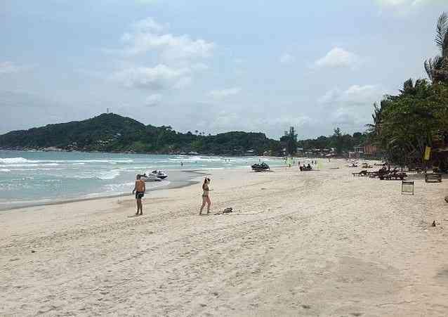 Haad Rin, Thailand beaches