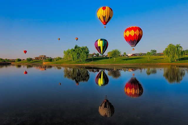 Yarra Valley, Best Hot Air Balloon Rides