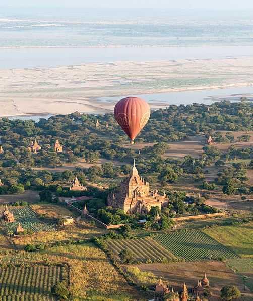 angkor, balloon flights